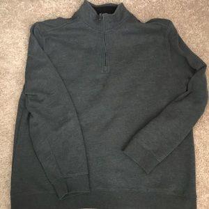 Sweatshirt pullover men's xxl charcoal
